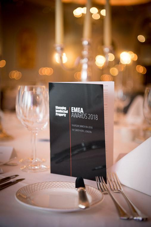 EMEA AWARDS 2018